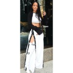 Rhianna in Track pants