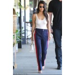 Kourtney Kardashian in track pants