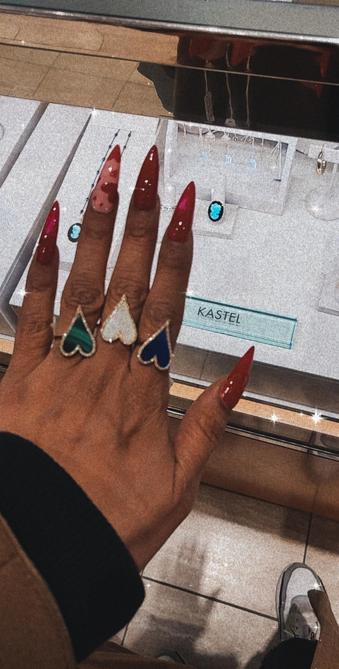 Heart Ring Kastel Jewelry